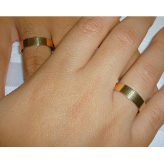 Alianças em ouro amarelo 12,0 gramas o par.